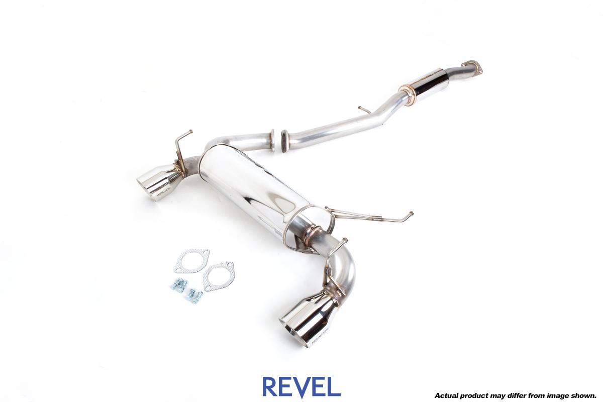 revel medallion touring s exhaust system nissan 350z 03 08