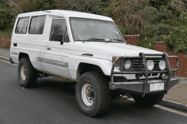 1991 Toyota Land Cruiser J70