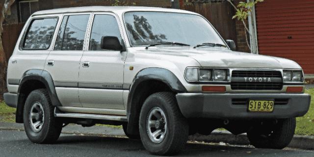1991 FJ80 Land Cruiser