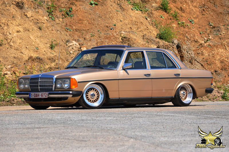 Slammed classic merc s speed style for Mercedes benz cool springs