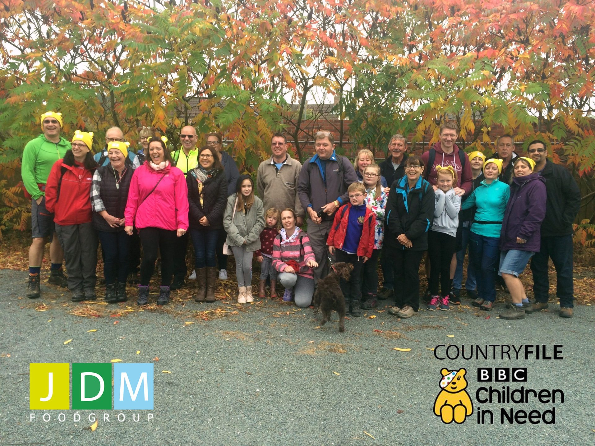 JDM Food Group Rambles for Children In Need 2017!