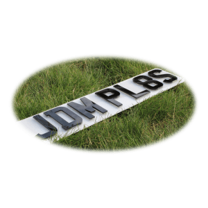 4D Krystal Number Plates | JDMPlates | Small 4D Krystal Number Plates For Imported Vehicles