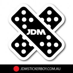 0070---JDM-Drift-Bandaid-100x100-W