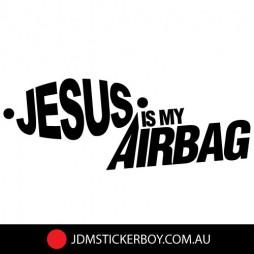 0274E---Jesus-is-My-Airbag-170x66-W