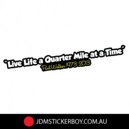 0536ST---Live-Life-A-Quater-Mile-By-Paul-Walker-190x25-W