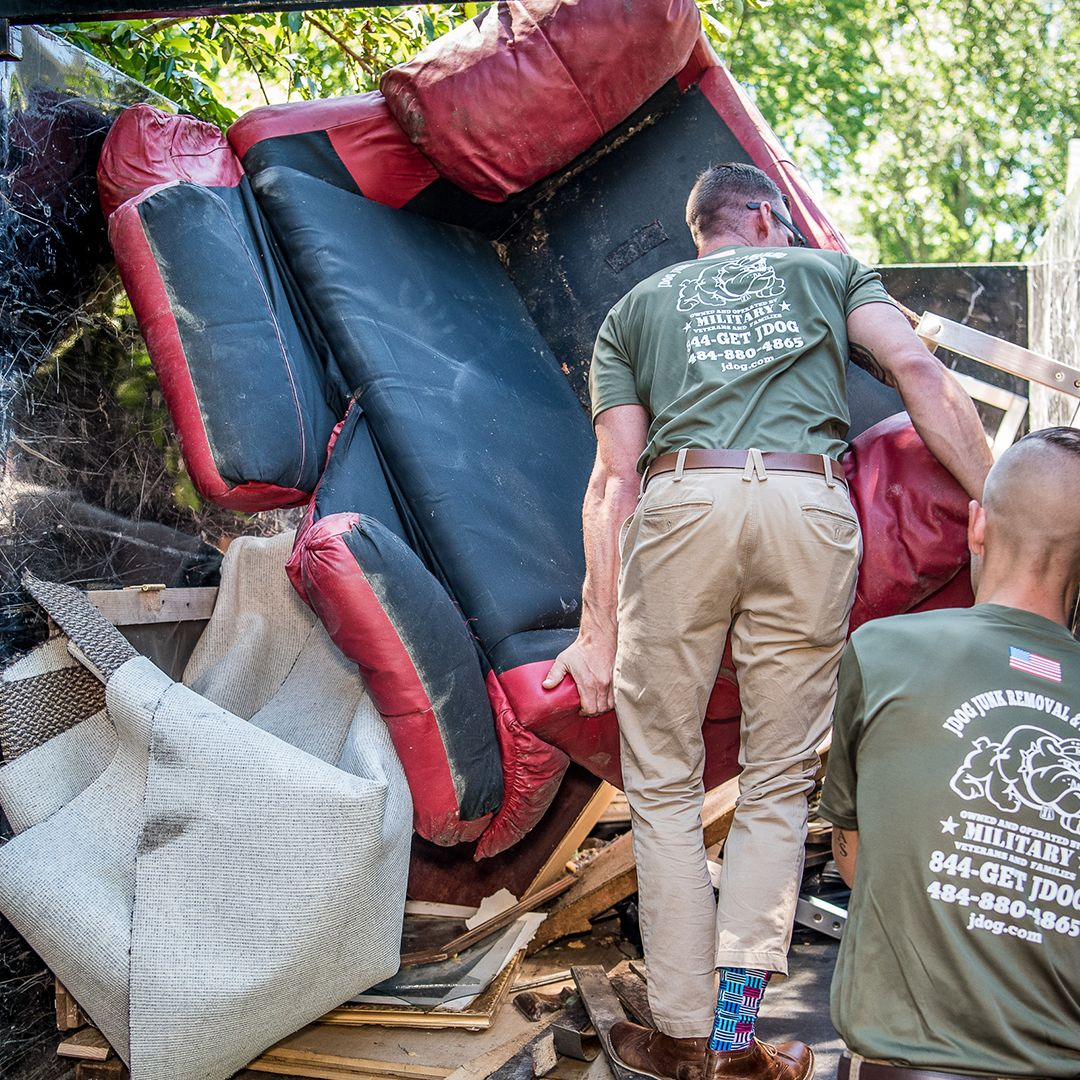 Couch Removal JDog Junk Removal Amp Hauling