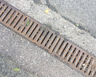 how to clean channel drains jdp