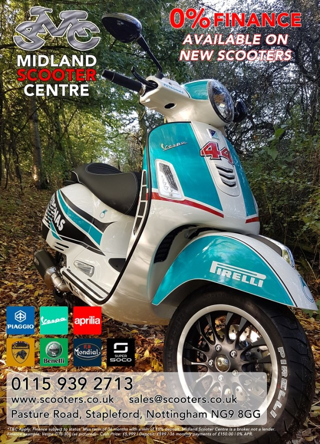 Scooters on finance