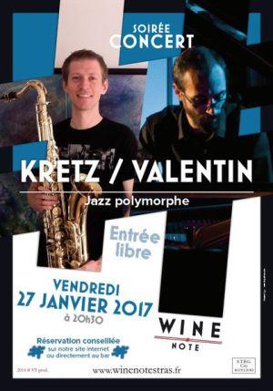 Kretz Valentin Strasbourg Jazz Wine Note Bar