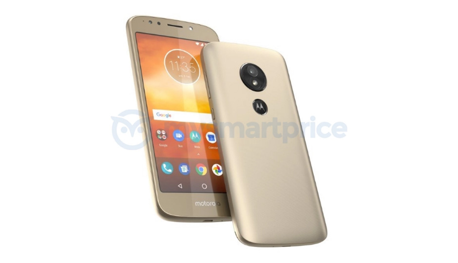 Moto E5 leaked image reveals 5-inch display, rear placed fingerprint scanner