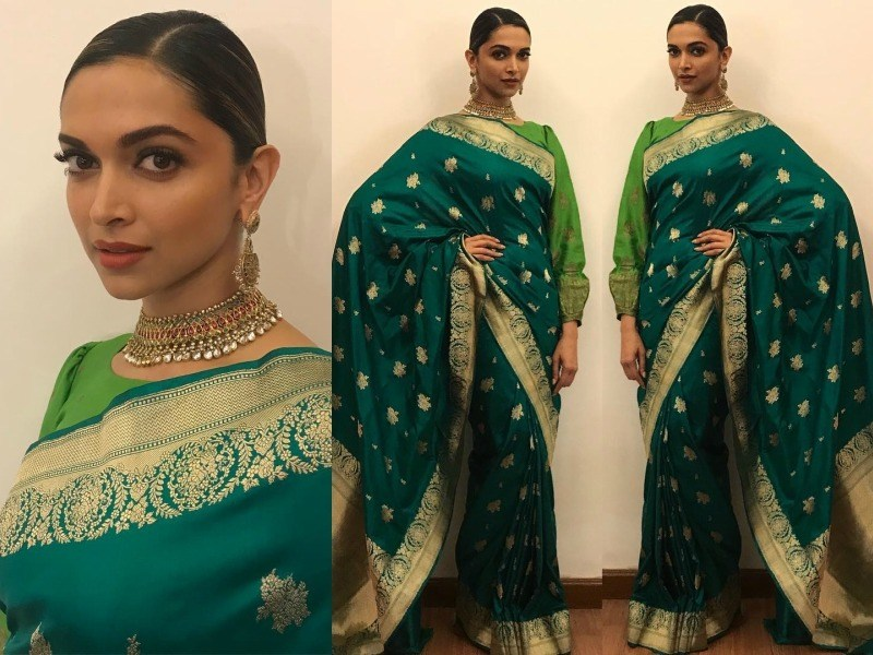 How elegant Bollywood celebrities look when they drape in ...