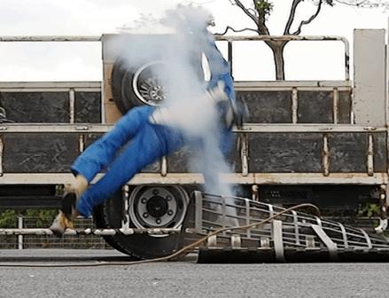 タイヤ空気充てん作業時の事故 2018年は33件発生