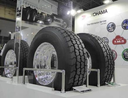 横浜ゴム、愛知タイヤ工業とのシナジー発揮 展示会でブランド訴求