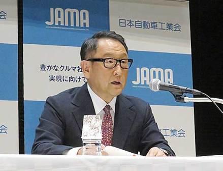 自工会の豊田会長が会見「平成の30年間はモノづくりを必死に守った」