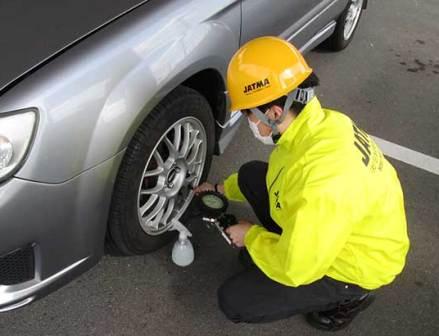 自動車タイヤ協会「4月8日タイヤの日」に各地で安全啓発活動