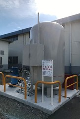 小野工場LPGタンク