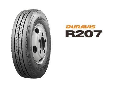 ブリヂストン、小型トラック用タイヤ「DURAVIS R207」3月発売