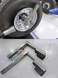 安全かつ効率的な作業を実現するための付属品も多く揃えた
