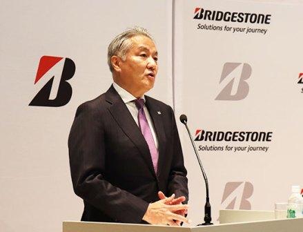 ブリヂストンの石橋CEOが中計の進捗を説明「今年は結果にこだわる」