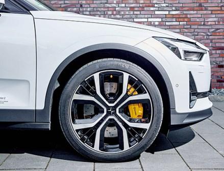 コンチネンタル、電気自動車向けタイヤでシェア拡大