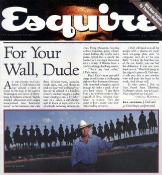 Esquire Magazine article on J. Dub's