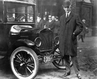 Henry Ford and the Model T.