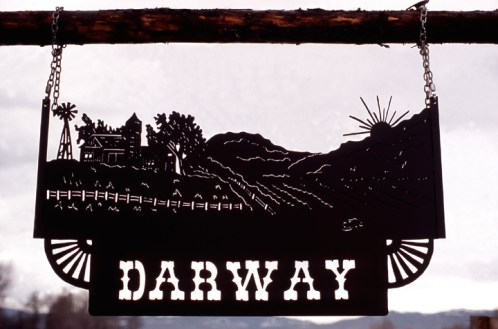 Ranch Sign - Darway Ranch