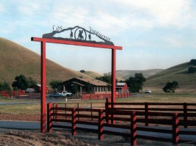 Ranch Sign - Los Vaqueros Ranch