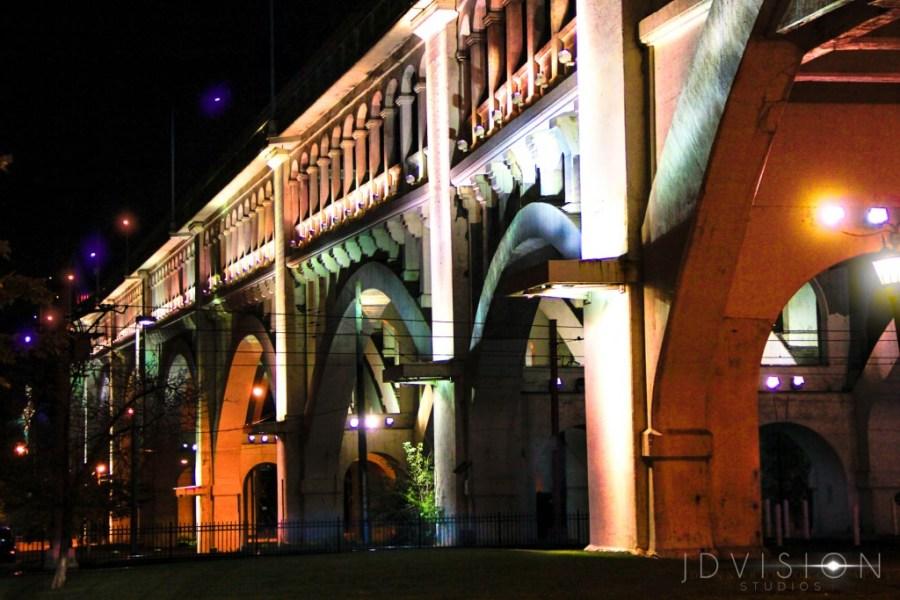 cleveland photographer architecture Detroit Superior bridge by JDVision Studios