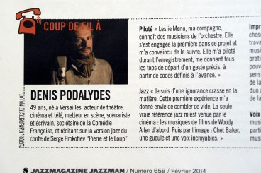 Denis Podalydes_Jean Baptiste MILLOT