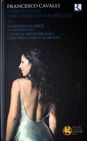 Leonardo García Alarcón – Mariana Flores : Francesco Cavalli – « Heroines of the Venetian Baroque » pochette d'album par Jean-Baptiste Millot