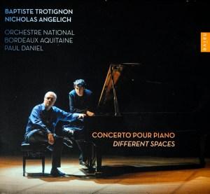 disque de Nicholas Angelich et Baptiste Trotignon couverture d'alum par Jean-Baptiste Millot