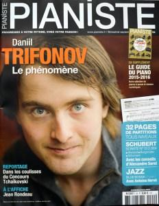 Couverture Pianiste Septembre 2015 : Daniil Trivonof