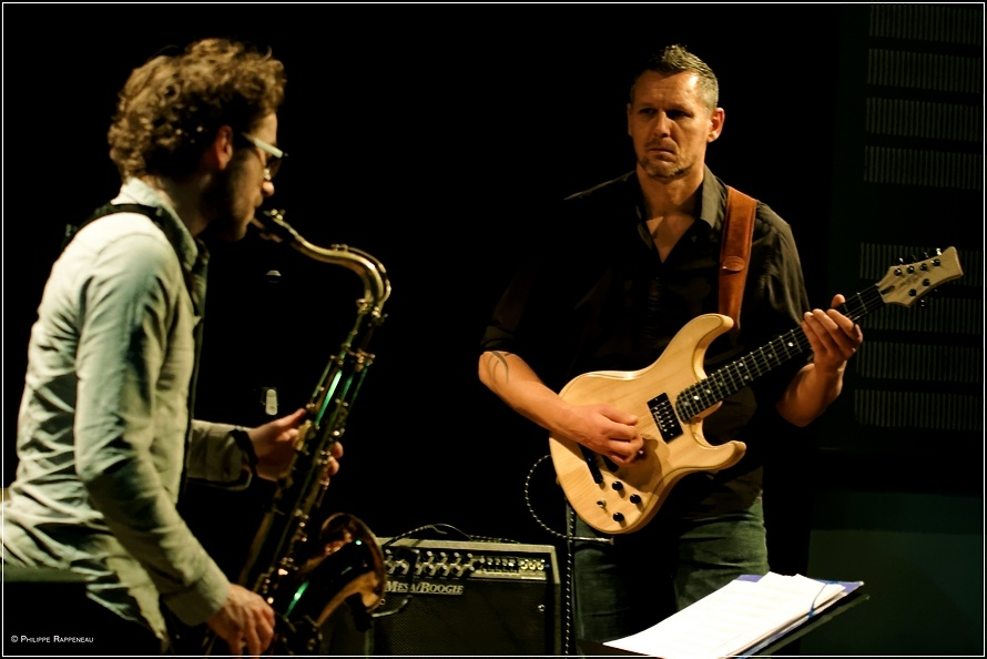 Jean-Baptiste Berger saxophone clarinette Cadillac Palace Reims