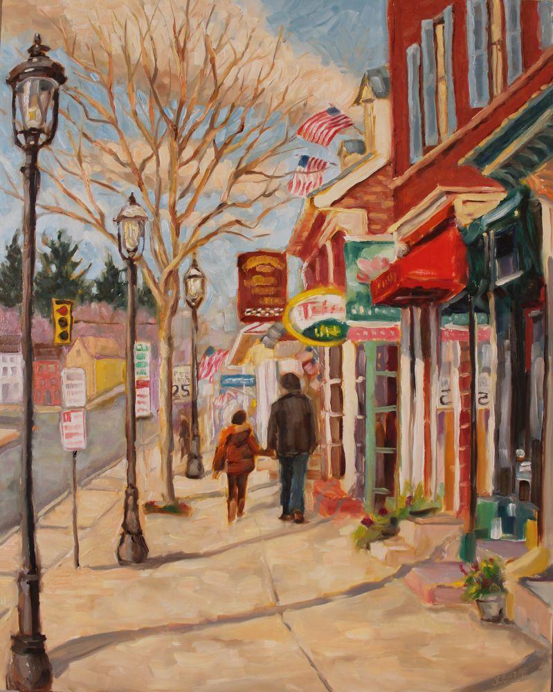 A Walk Down Main Street