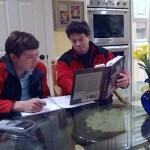 Father tutors sn
