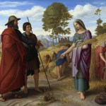 Painting of Ruth in Boaz's Field
