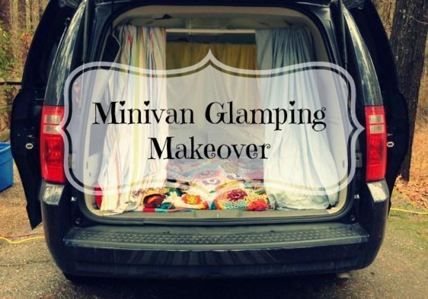 Minivan Glamping Makeover