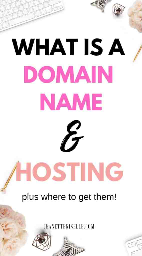 What is a domain name and hosting? Don't get lost in all the blogging terms. Start a blog in the right way by knowing what these are. How to Create a Blog | Blogging for Beginners WordPress