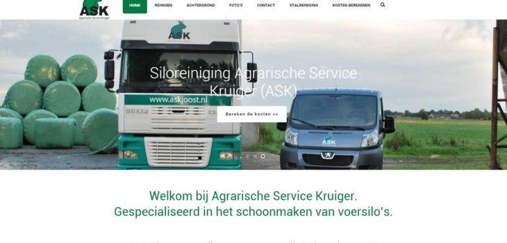 Homepagina website ASK voersiloreinigen