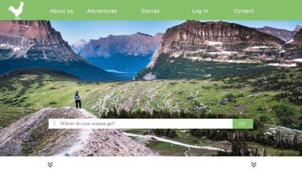 Contept Travellu homepage
