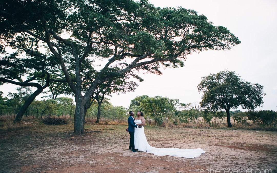 Eusebia and Kuda's wedding at Wild Geese Lodge in Harare
