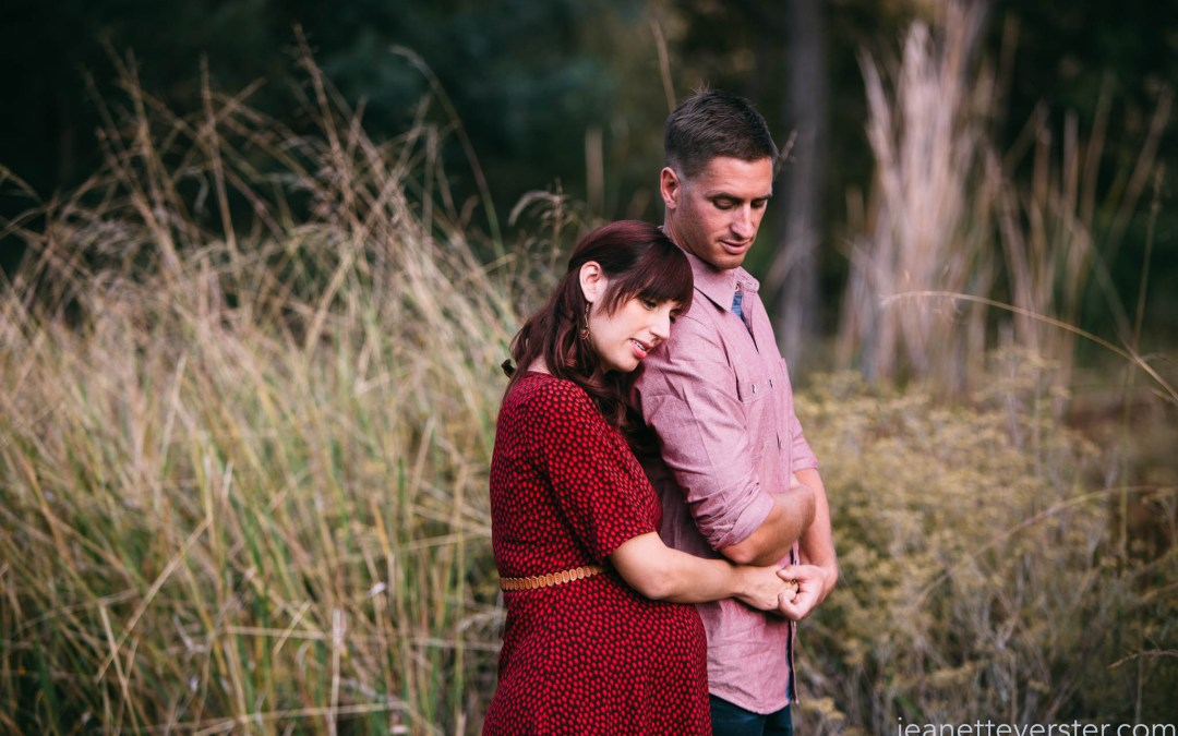 Rebecca and Peter's autumn maternity photoshoot