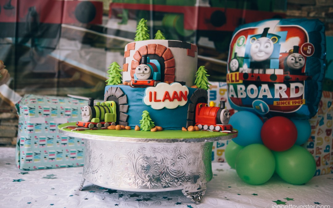 Ilaan's 4th birthday party at home