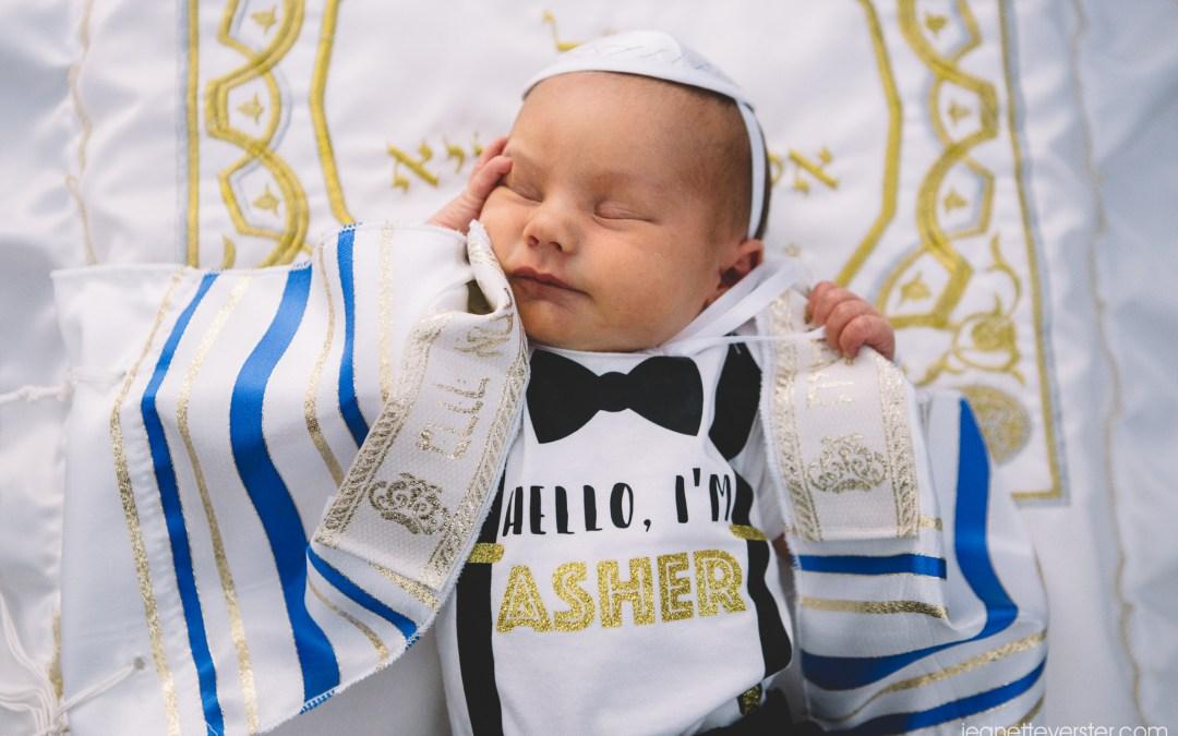 Asher's brit milah at Bet David
