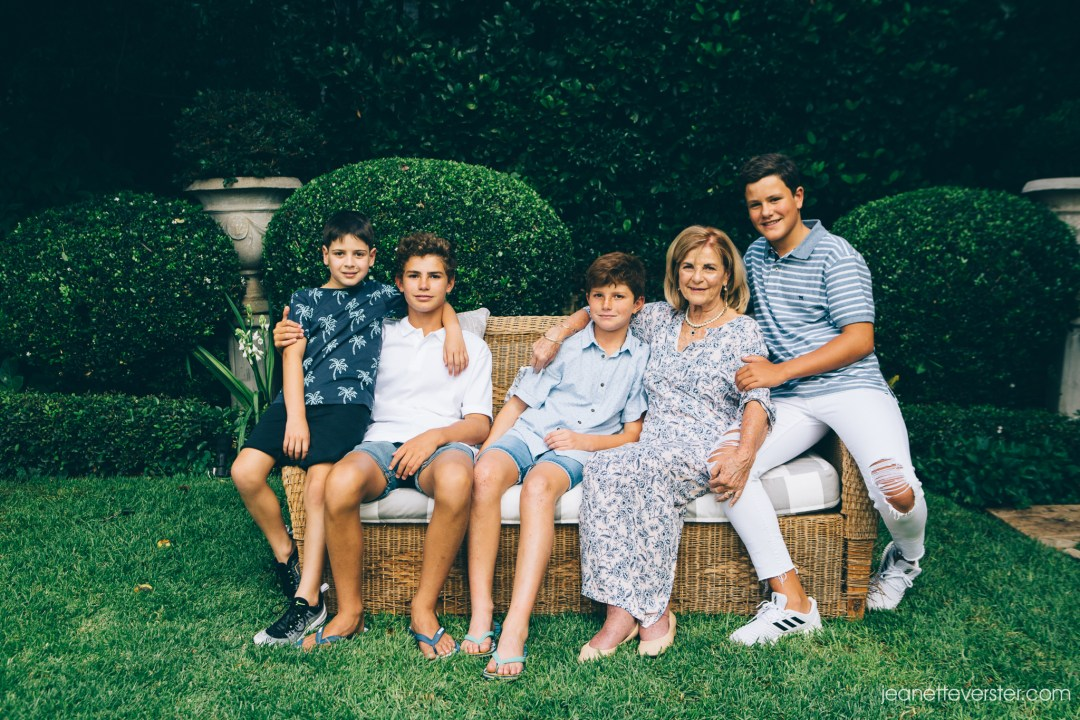 Bruwer family at home 026