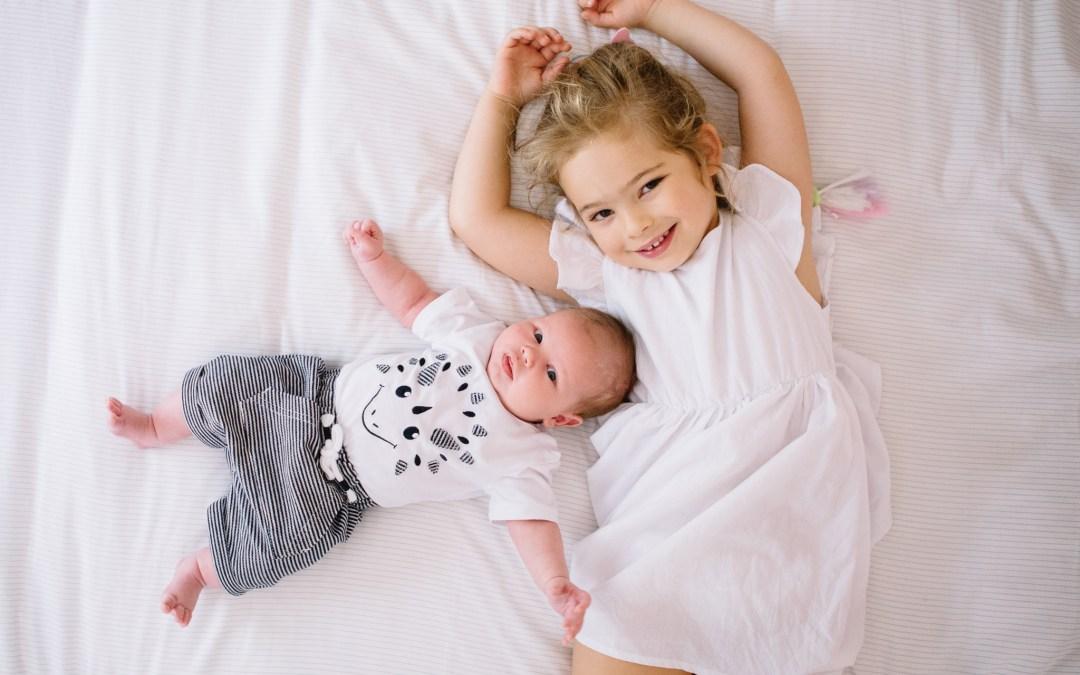Newborn lifestyle shoot at home in Parktown