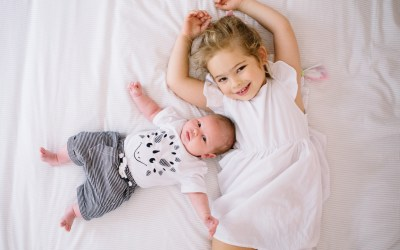 Newborn lifestyle shoot at home in Parktown