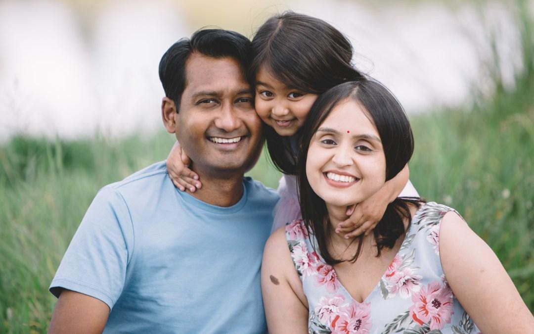 M family photos at Waterfall Estate