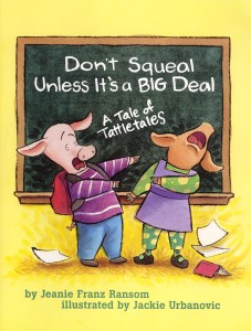 Don't Squeal book cover